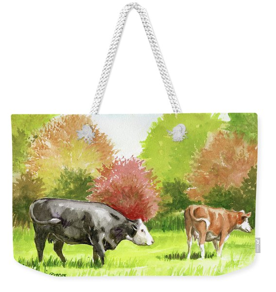 Spring Morning Graze Weekender Tote Bag