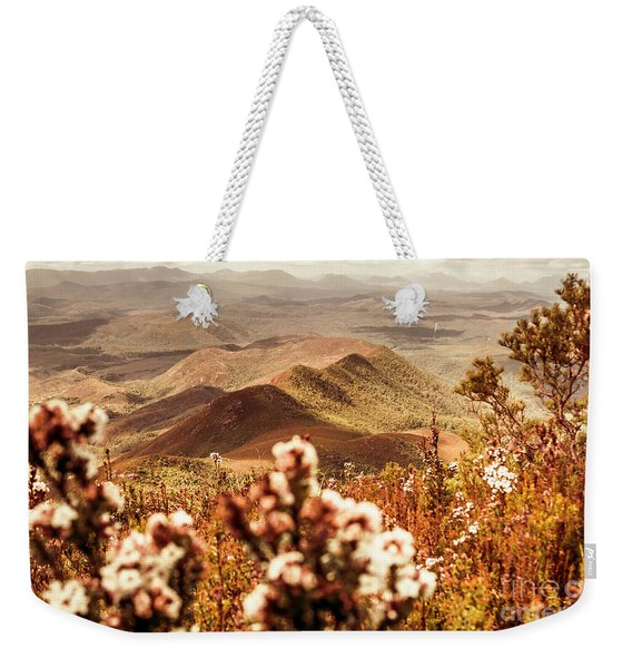 Spring Mountain Blossoms Weekender Tote Bag