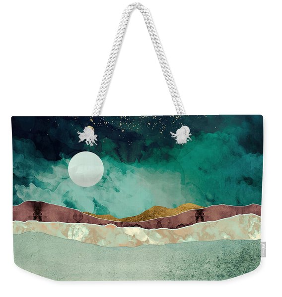 Spring Night Weekender Tote Bag