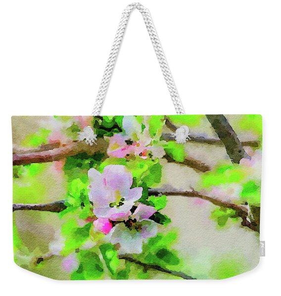 Spring On A Branch Weekender Tote Bag