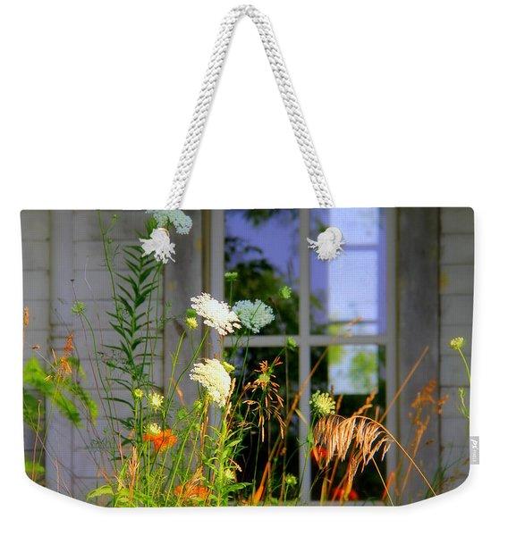 Spring Orange Weekender Tote Bag