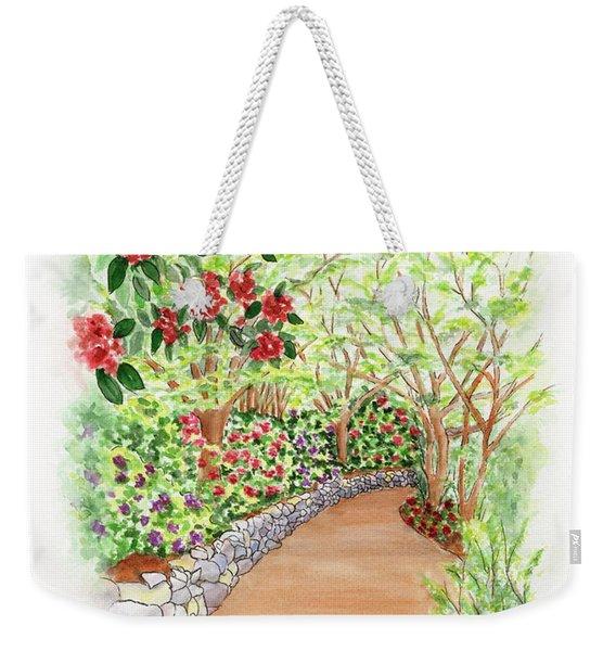 Spring Rhodies Weekender Tote Bag