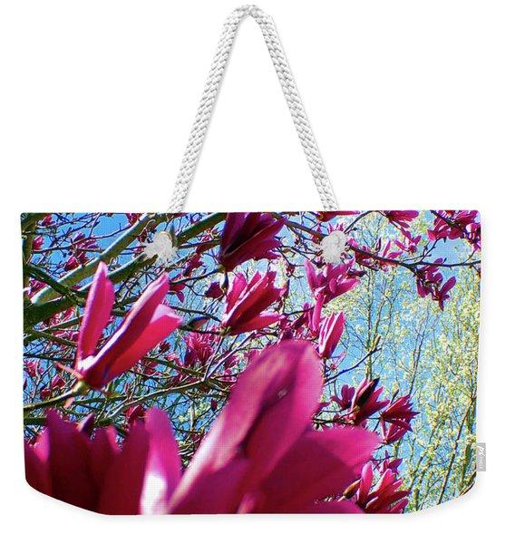 Spring Sky Weekender Tote Bag
