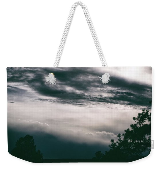 Weekender Tote Bag featuring the photograph Spring Storm Cloudscape by Jason Coward