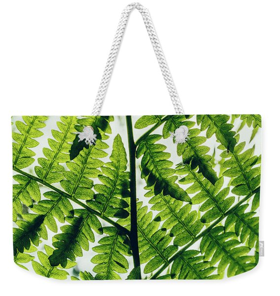 Spring Symmetry Weekender Tote Bag