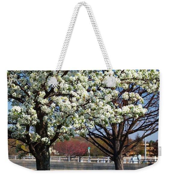 Spring Time In Westport Weekender Tote Bag