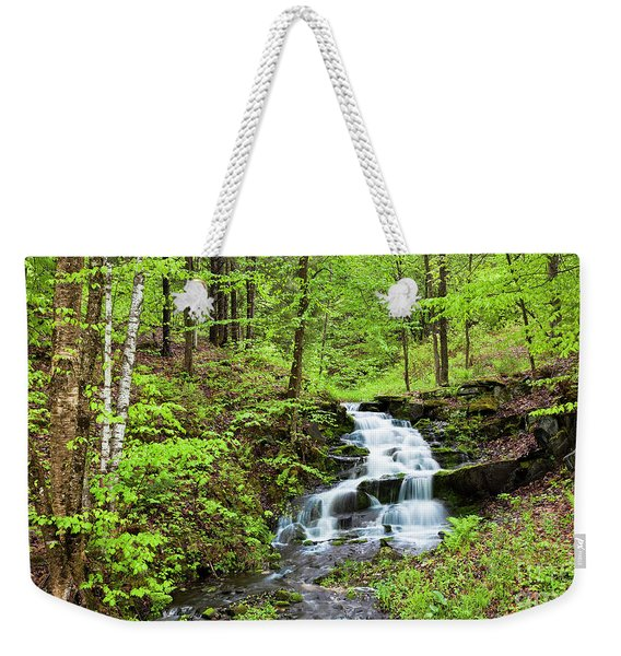 Spring Waterfall Weekender Tote Bag