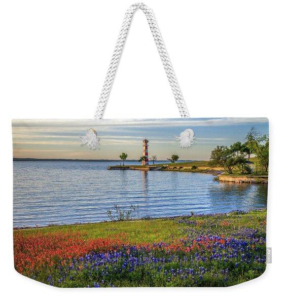 Spring Wildflowers Of Lake Buchanan Weekender Tote Bag