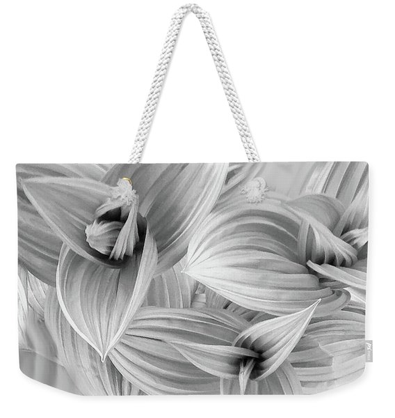 Weekender Tote Bag featuring the photograph Springs Dance Of Form by Wayne King