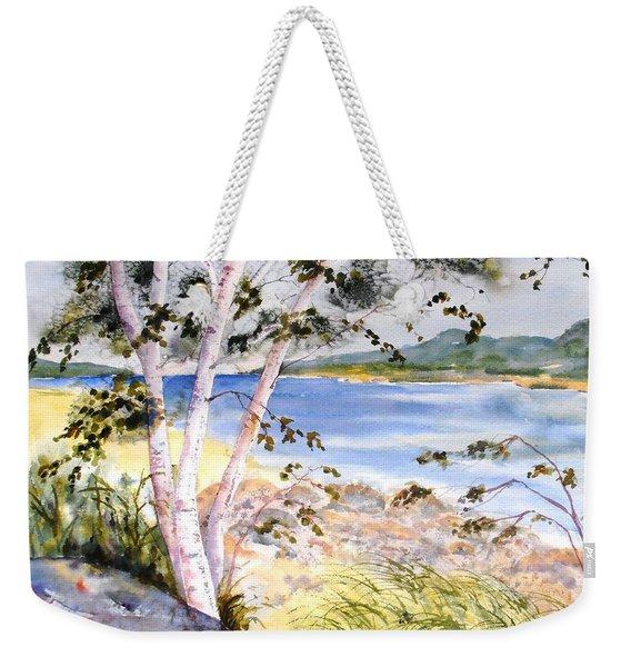 Springtime Birches Weekender Tote Bag