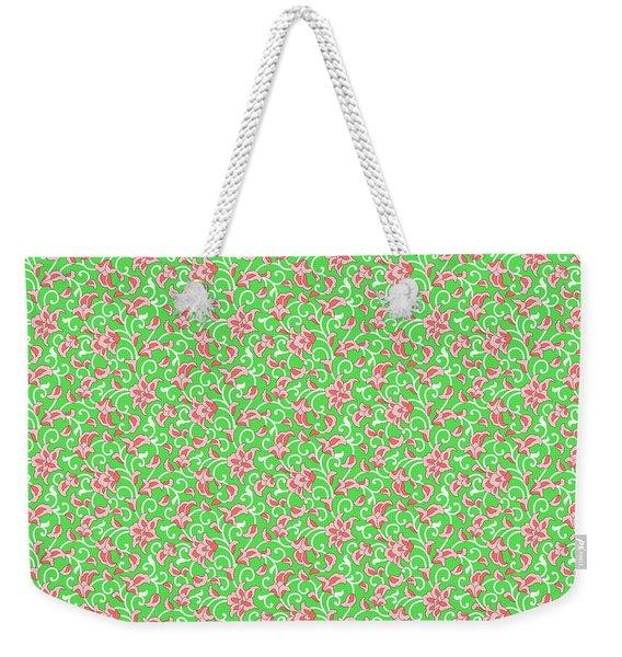 Springtime Botanicals-e Weekender Tote Bag
