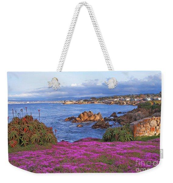 Springtime In Pacific Grove Weekender Tote Bag
