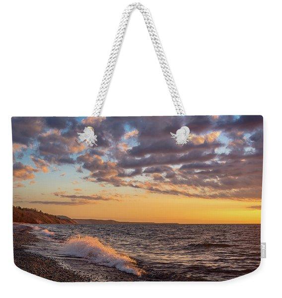 Springtime On Agate Beach Weekender Tote Bag