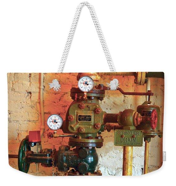 A Spinkle In Time Sprinkler Guages Weekender Tote Bag