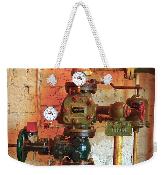 A Spinkle In Time Sprinkler Guages Weekender Tote Bag