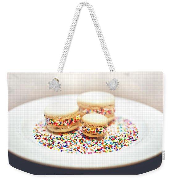 Sprinkles And Macarons Weekender Tote Bag