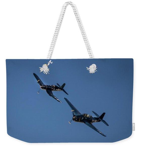 Squadron Weekender Tote Bag