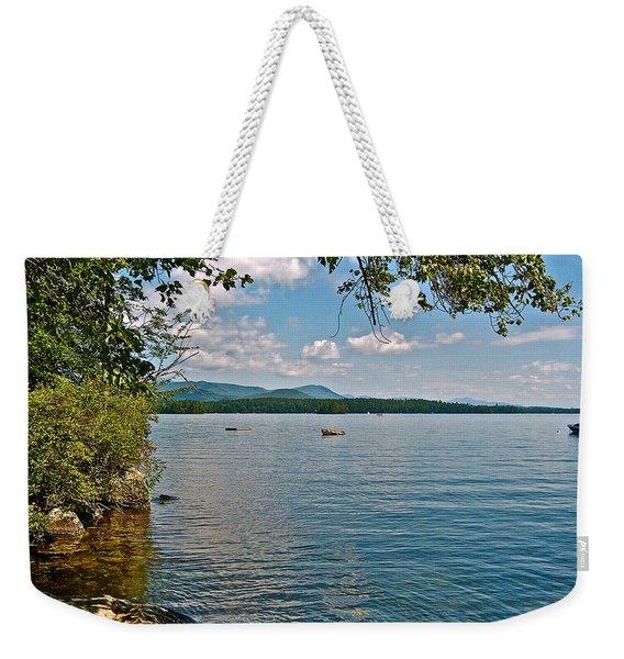 Squam Lake In New Hampshire   Weekender Tote Bag