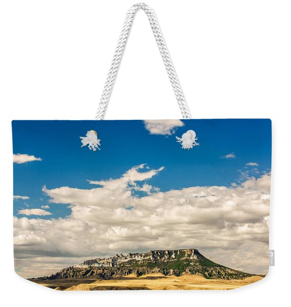 Square Butte Weekender Tote Bag