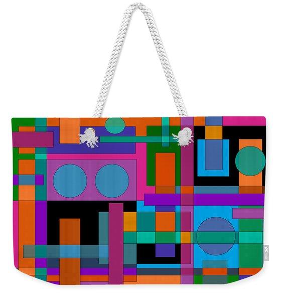Square Pegs Weekender Tote Bag