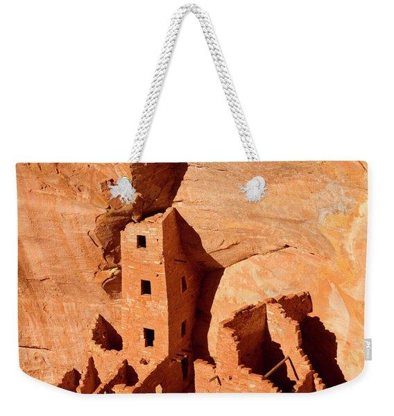 Square Tower House Weekender Tote Bag