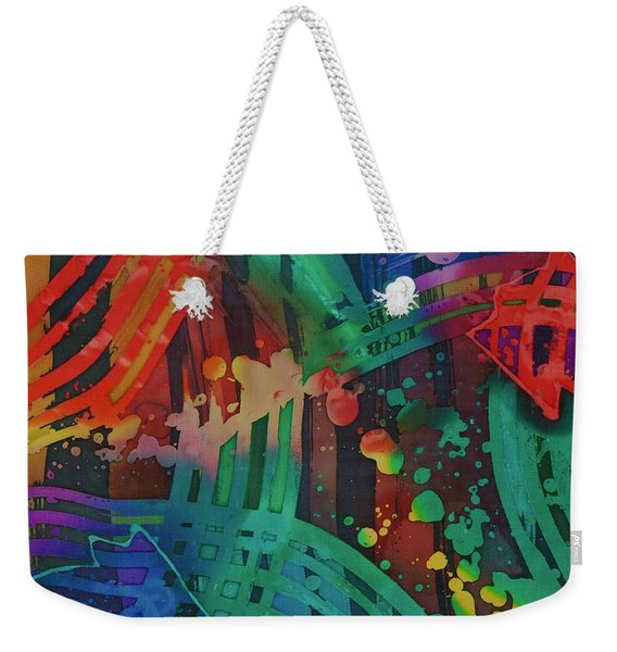 Squares And Other Shapes 2 Weekender Tote Bag
