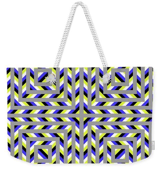 Squaroo Weekender Tote Bag