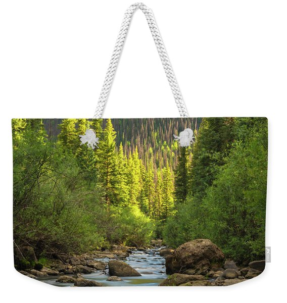 Squaw Creek, Colorado #2 Weekender Tote Bag
