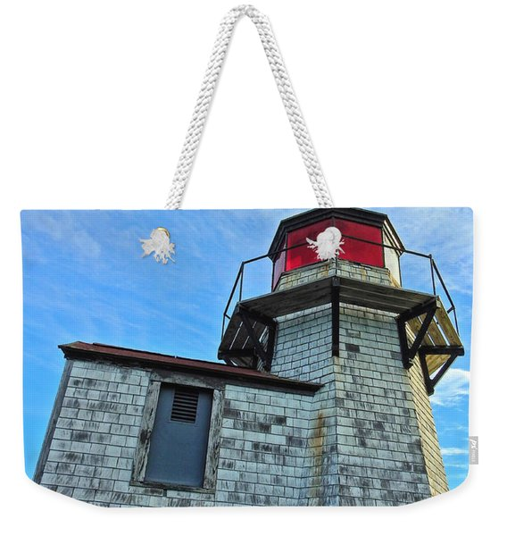 Squirrel Point Lighthouse Weekender Tote Bag