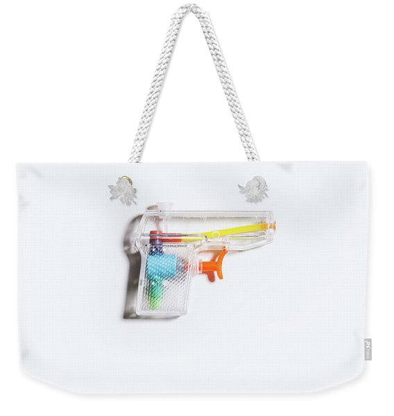 Squirt Gun Weekender Tote Bag