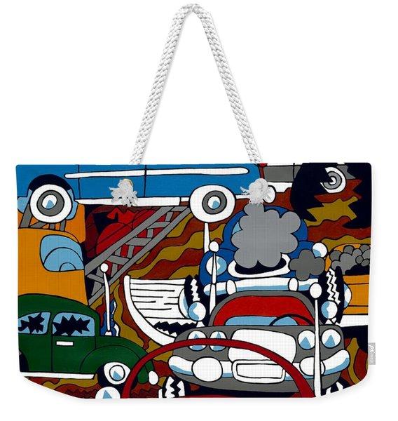 Ss Studebaker Weekender Tote Bag