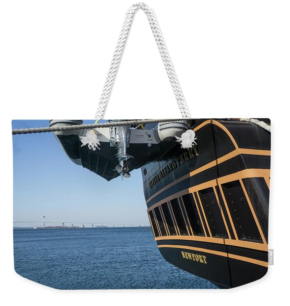 Ssv Oliver Hazard Perry Close Up Weekender Tote Bag