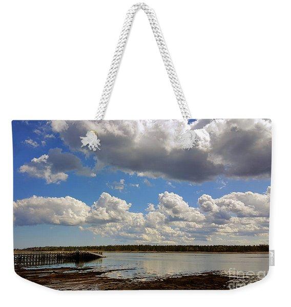 St. Andrews At Low Tide Weekender Tote Bag