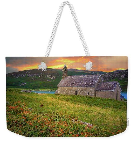St. Brendan The Navigator Church Of Ireland In Crookhaven Weekender Tote Bag