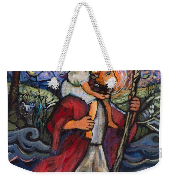 St. Christopher Weekender Tote Bag