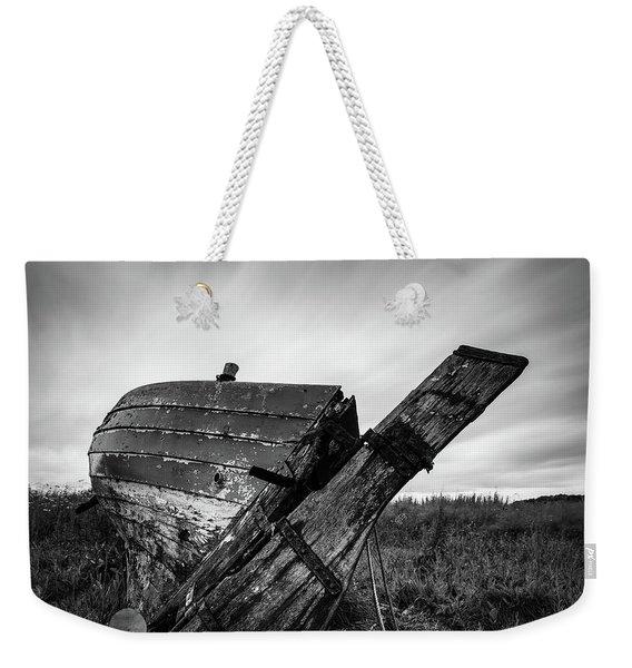 St Cyrus Wreck Weekender Tote Bag
