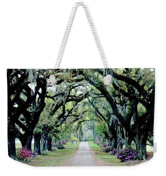 St Francisville Plantation Weekender Tote Bag