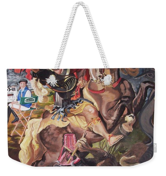St George And The Dragon Weekender Tote Bag