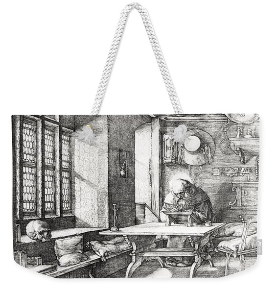 St Jerome In His Study Weekender Tote Bag