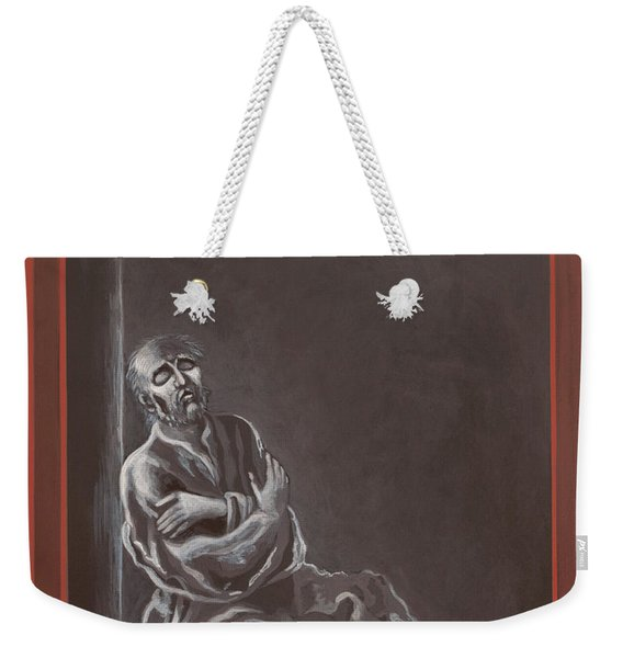 St John Of The Cross In The Dark Night Of The Soul 290 Weekender Tote Bag