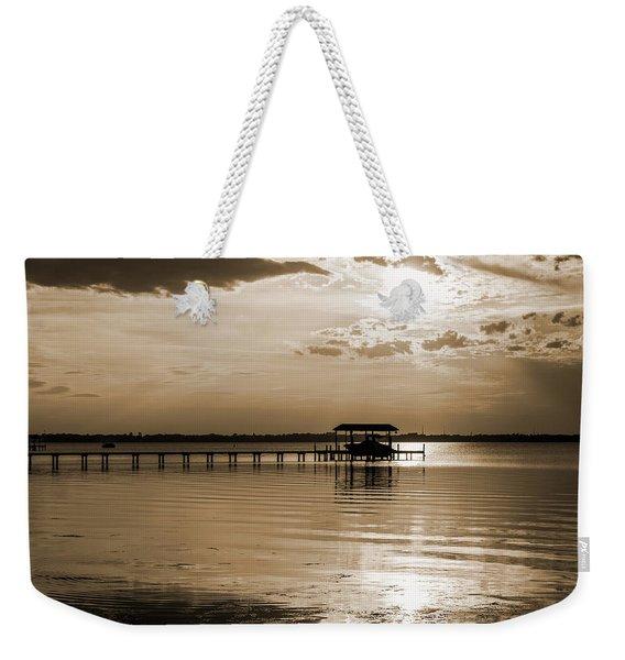 St. Johns River Weekender Tote Bag