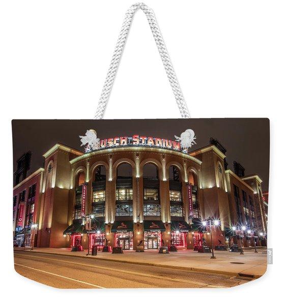 St Louis Busch Stadium  Weekender Tote Bag