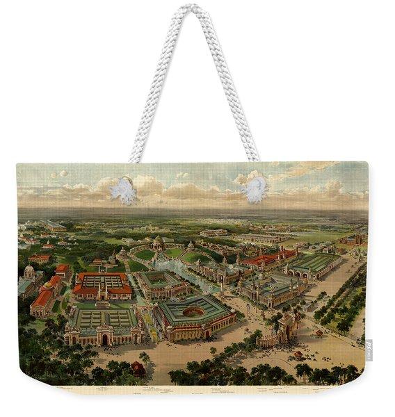St. Louis Worlds Fair 1904 Weekender Tote Bag