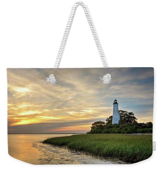 St. Mark's Lighthouse Weekender Tote Bag