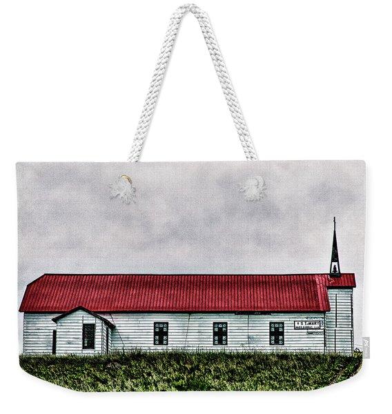 St. Mary Church, Babb, Mt Weekender Tote Bag