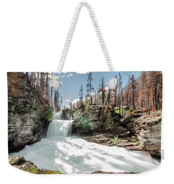 St. Mary Falls Weekender Tote Bag