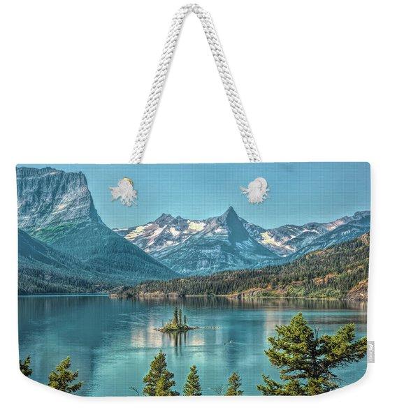 St Mary Lake Weekender Tote Bag