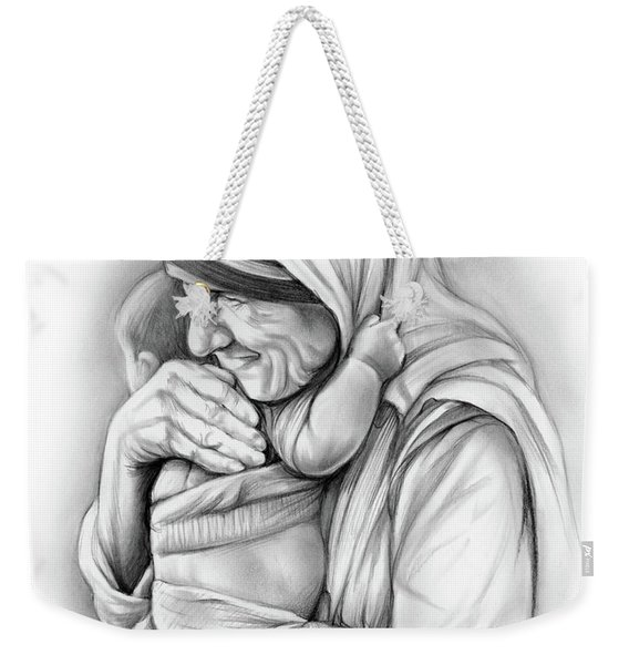 St Mother Teresa Weekender Tote Bag