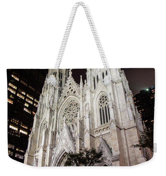 St Patrick Cathedral New York Weekender Tote Bag