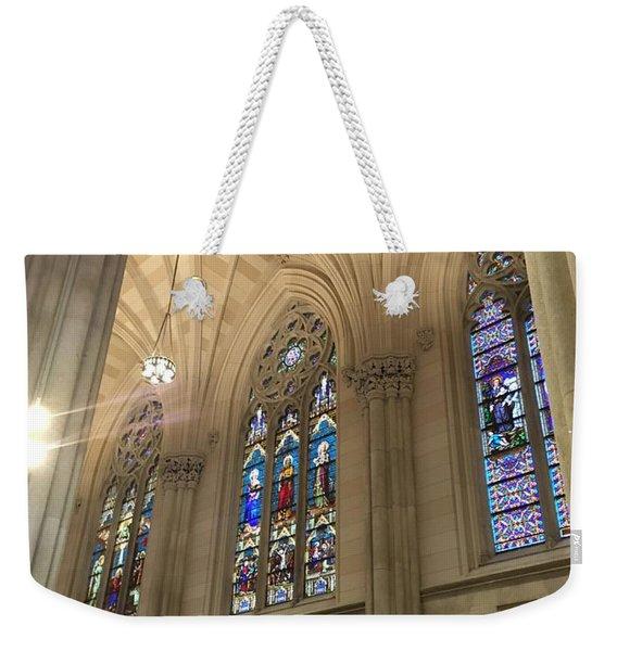 St. Patricks Cathedral Interior Weekender Tote Bag